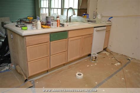 flat kitchen cabinet doors makeover peninsula front makeover from flat panel to