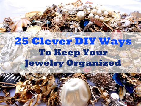 best way to wire a house 25 clever diy ways to keep your jewelry organized