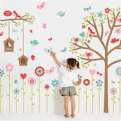 childrens wall sticker change the entire look of kid s room with walls sticker boshdesigns