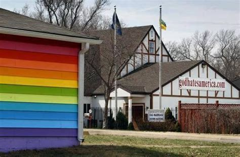 the equality house equality house lgbt center across the street from westboro baptist church to stage