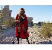 Superheroine Destroys Rifle By Ilikesuperwomens On DeviantArt