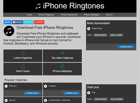 Iphone Theme Ringtone Download Free | 5 top websites to download free iphone 8 ringtones