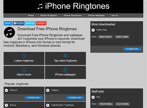 iphone themes ringtones 5 top websites to download free iphone 8 ringtones