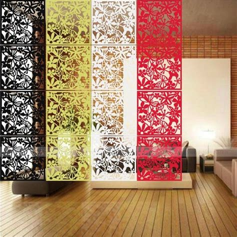 Hanging Curtain Room Divider Hanging Screen Partition Room Divider Curtain Panel Wall Sticker Home Decor Ebay