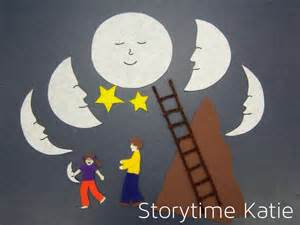 Summer Craft Kids - flannel friday papa please get the moon for me storytime katie