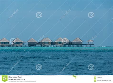 Cabin Plans by Beautiful Stunning Water Bungalow In The Sea In Maldives