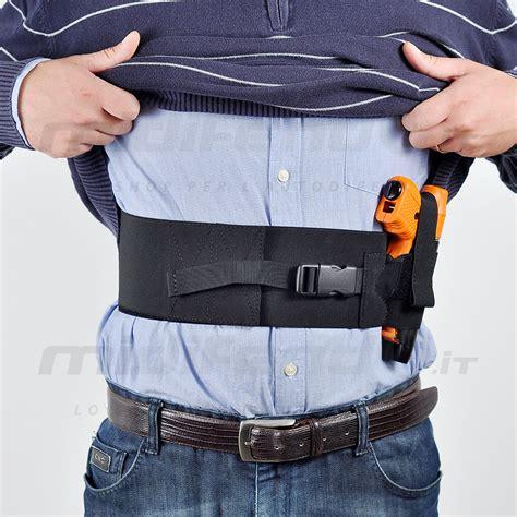 porto pistola fascia elastica sottocamicia per porto pistole cm 85 destra