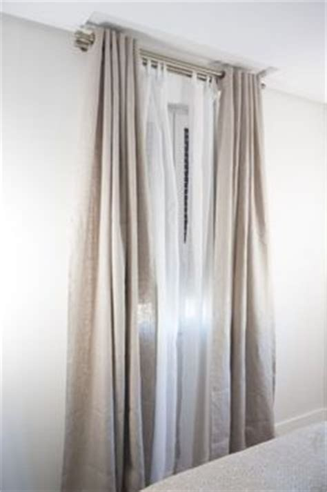 barra doble cortina i like the practicality of roller blinds with a sheer