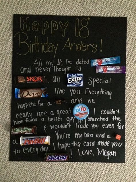 Boyfriend's 18th birthday card   Cool photos   Pinterest
