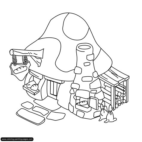 free coloring pages of indian village