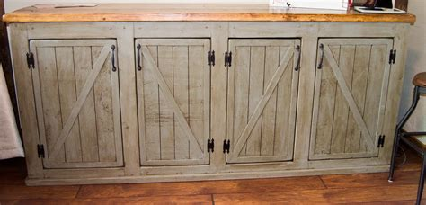 Barn Door Cabinets White Scrapped The Sliding Barn Doors Rustic Cabinet Doors Instead Diy Projects