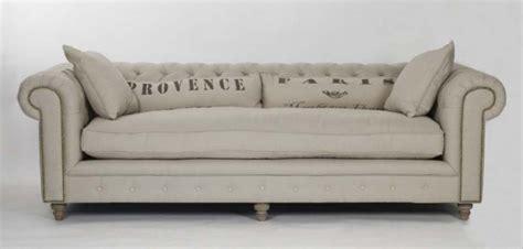 market linen chesterfield sofa