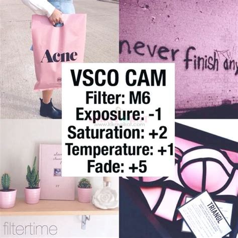 blogger vsco filters 20 vsco cam filters for pink instagram feed rizanoia