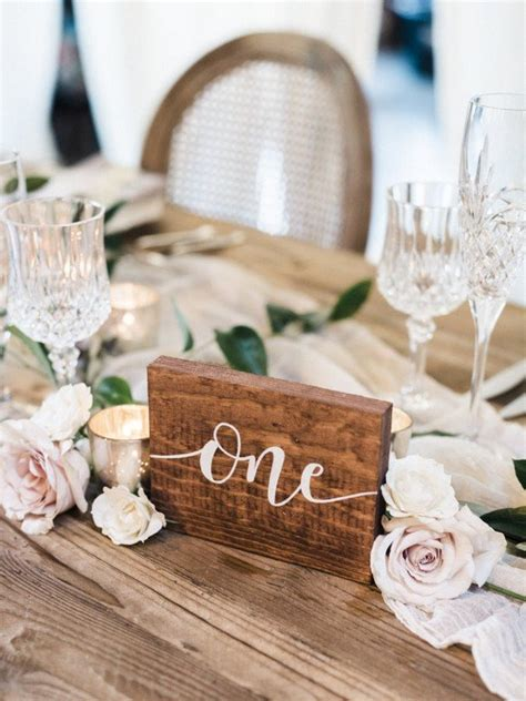 Wedding Table Number Ideas 18 Inspiring Wedding Table Number Ideas To Oh Best Day
