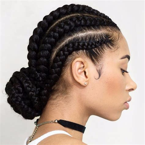 Hairstyles For Braids by Cornrow Braids Styles 97 With Cornrow Braids Styles