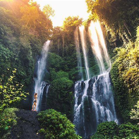 stunning waterfalls  bali kokonut suites  star