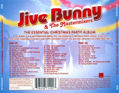 essential christmas party album jive bunny  mastermixers songs reviews credits