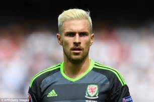 aaron ramsey bleaches hair for wales euro 2016 caign lionel messi shows off new haircut as he gears up for the