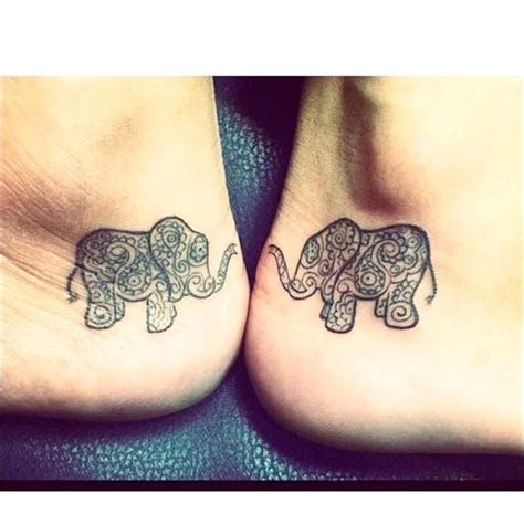 matching elephant tattoos the 25 best matching tattoos ideas on