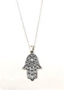 hama necklace sterling silver hamsa necklace