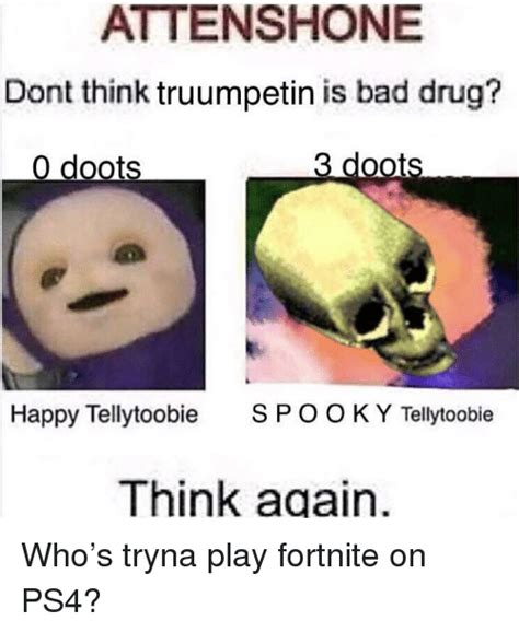 fortnite is bad for attenshone dont think truumpetin is bad 0 doots 3
