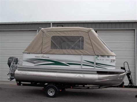 pontoon boat awnings pontoon boat enclosures and covers paul s custom canvas