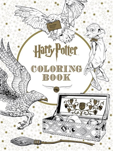 harry potter coloring book for adults grown ups get a sneak peek of the new harry potter coloring book
