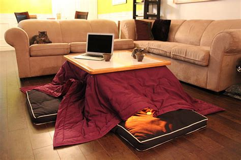 kotatsu bed never get out of bed this winter thanks to this amazing