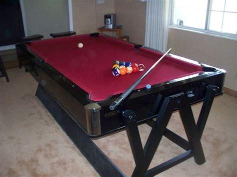 4 Way Air Hockey Table by Harvard Pool Table And Air Hockey Combo Bonus Room 2
