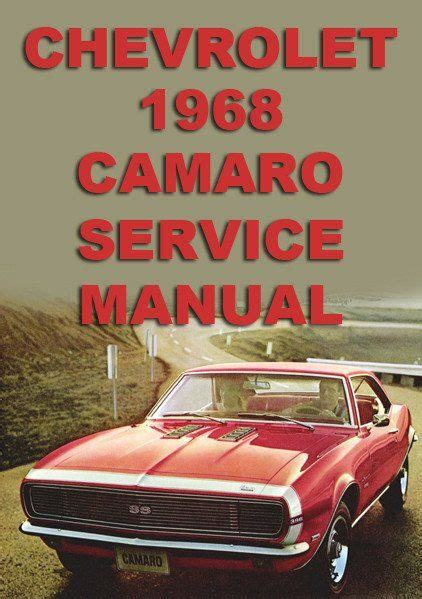 auto repair manual free download 1968 chevrolet camaro electronic toll collection 13 best chevrolet car manuals direct images on car manuals atelier and workshop