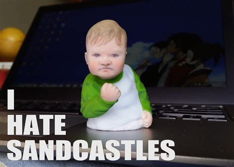 3d Meme - success kid meme 3d print 3d model 3d printable stl wrl