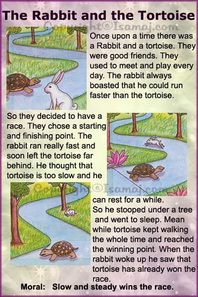 themes for stories with morals moral stories the rabbit and the tortoise kids moral