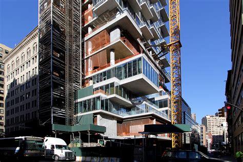 Three Story Building by Construction Update Tribeca S Jenga Tower 56 Leonard Tops