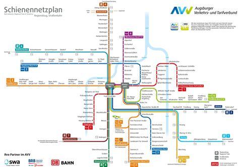 map augsburg germany augsburg rail map
