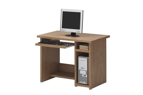 standing desk small space small wood computer desk with pull out keyboard and cpu