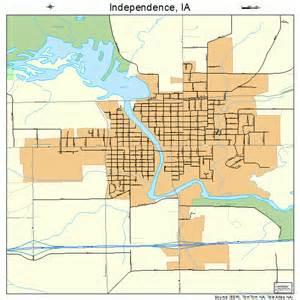 independence iowa map 1938100