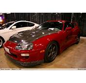 Red Supra With Carbon Fiber Lip  BenLevycom
