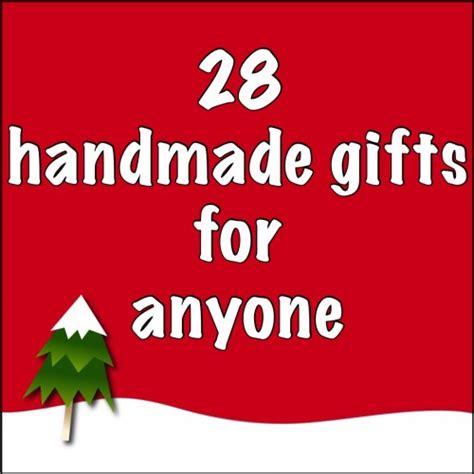 just crafty enough handmade holiday gifts for anyone