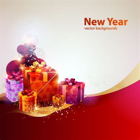 theme for new year new year theme vector cool glare free vector 4vector