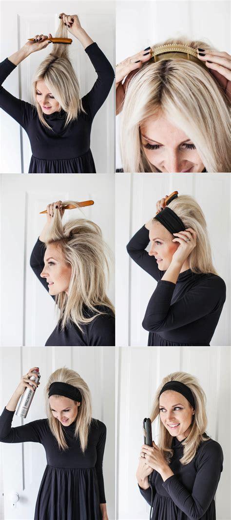 50s women short hair diy brigitte bardot headband hair a beautiful mess