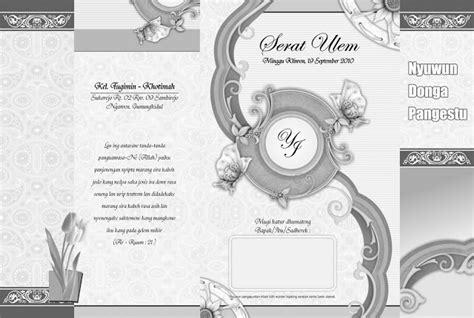 template gratis undangan pernikahan cdr download template undangan pernikahan format cdr progmisc