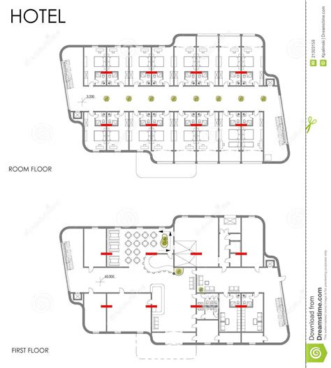 Disney Floor Plans hotel drawing plan royalty free stock images image 21303159