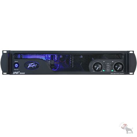 Power Lifier 3000 Watt peavey ipr2 3000 1750 watt power lifier ipr23000 light weight ebay