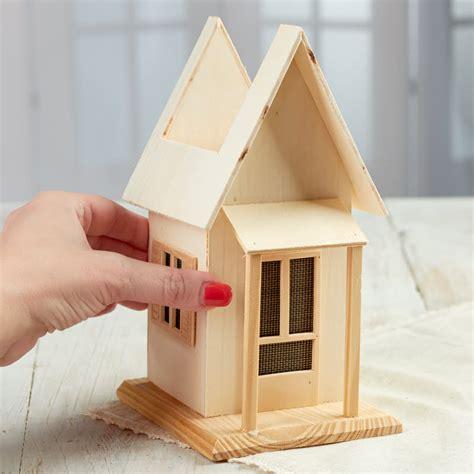 wood craft kits for unfinished wood planter house wood craft kits