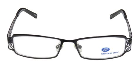 s boots tamsin11040 black eyeglasses with metal