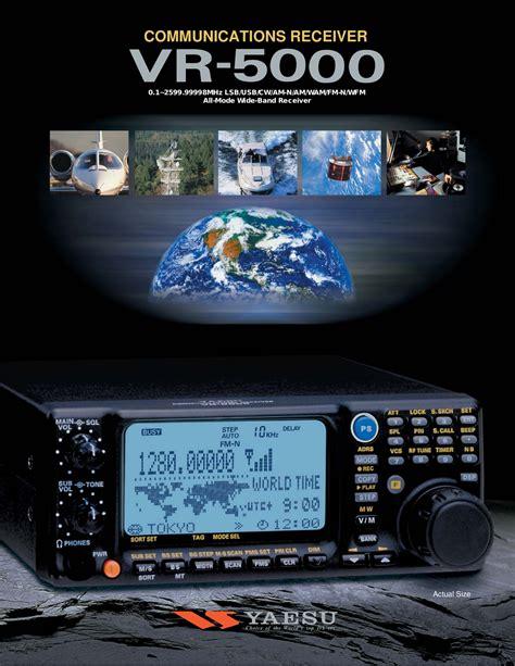 Yaesu Vr 500 Free Pdf For Yaesu Vr 500 Receiver Other Manual
