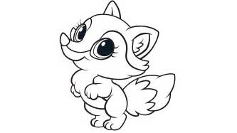 baby fox coloring pages learning friends fox coloring printable