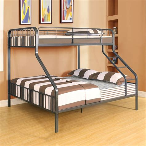 Acme Bunk Beds Acme Furniture Caius Xl Bunk Bed In Gunmetal 37605