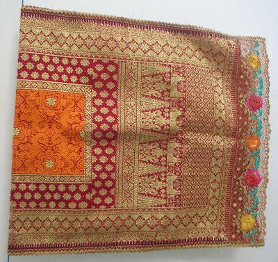 Songket Palembang Motif Bunga Cino Pink songket palembang cek na jual sogket palembang motif