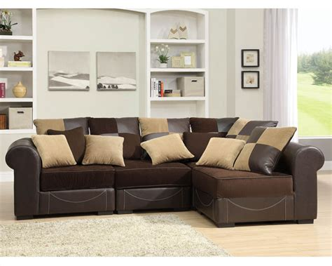 homelegance sectional sofa set lamont modular el 9733set